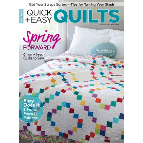 Quick + Easy Quilts