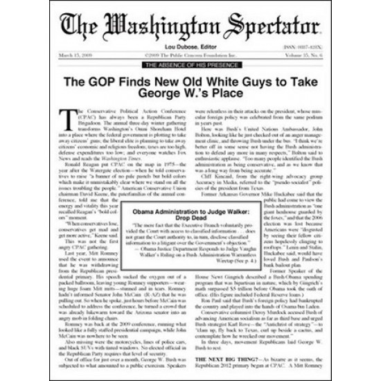 Washington Spectator