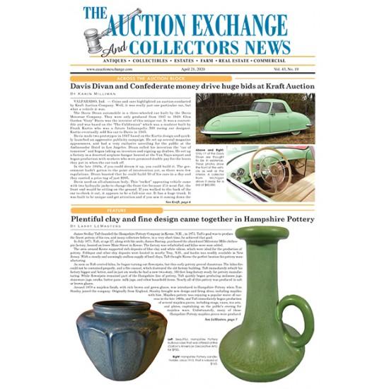 Auction Exchange & Collectors News