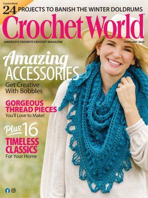 Crochet Monthly Magazine : Crochet World Magazine Subscription - Subscribe or Renew