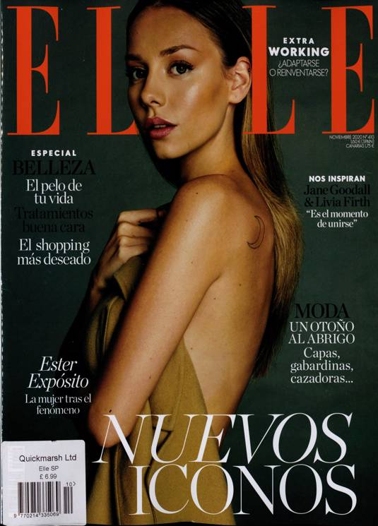 Subscribe or renew elle spain magazine subscription for Subscribe to elle magazine