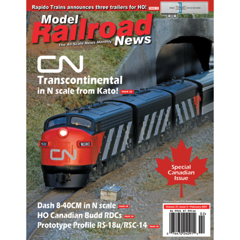 model railroad news magazine subscription subscribe or renew
