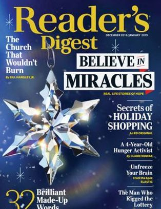 subscribe or renew readers digest - large print magazine subscription