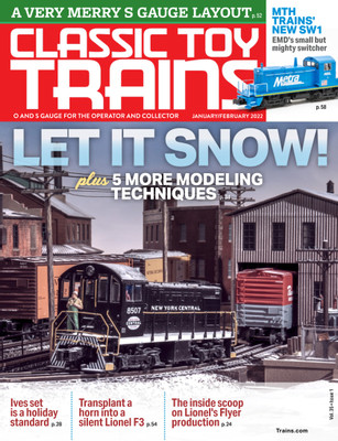 Home classic toy trains magazine